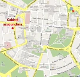 Clic pentru harta - localizare cabinet medical pe harta Timisoara